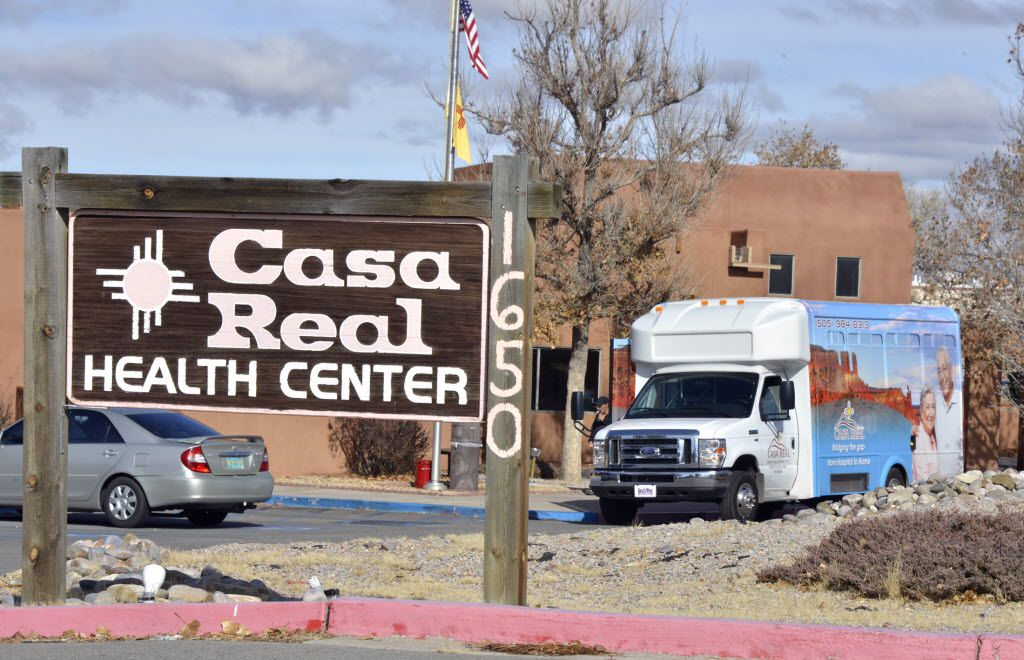 A 2014 photo of Casa Real nursing home in in Santa Fe, N.M. The New Mexico Attorney General sued the Preferred Care chain that year, alleging substandard care at seven nursing homes, including Casa Real.