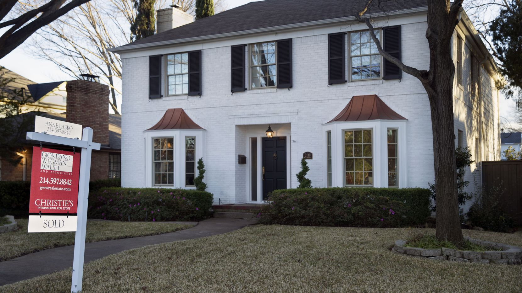 Dallas County home prices were up by more than 13% in August from a year earlier.