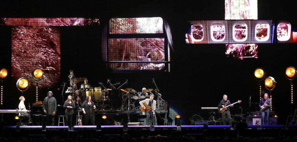 James Taylor performs at The Star Center in Frisco  on Jul. 31. (Jason Janik/Special Contributor)