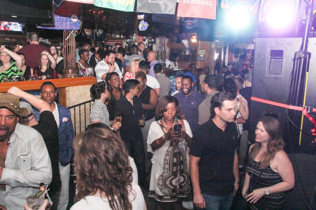 Friends and fans came out to celebrate Kellie Rasberry's birthday.