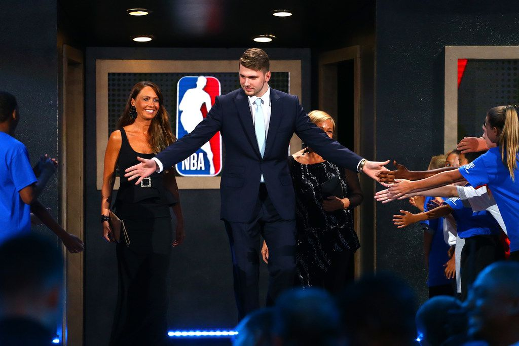Luka Doncic represents the home run that the Mavericks knew they had to hit in the NBA draft. (Photo by Mike Stobe/Getty Images)
