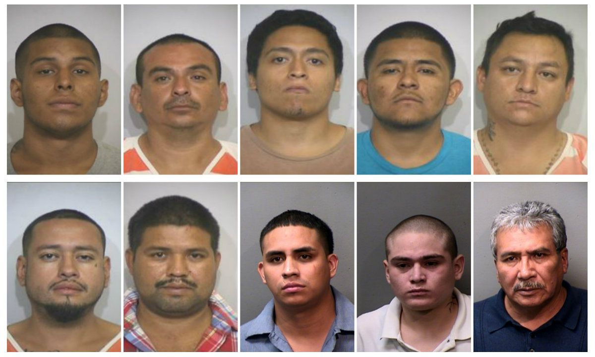 Top left to right: Carlos Diaz, Leonel Omar Fernandez,  Bryan Gutierrez, Jonathan Ortiz and Jorge Ramirez. Bottom left to right: Jose Pascual Hernandez, Jose Saul Reyes Hernandez, Rodrigo Soto Gonzalez, Ricardo Rodriguez Taylor and Adolfo Tello.