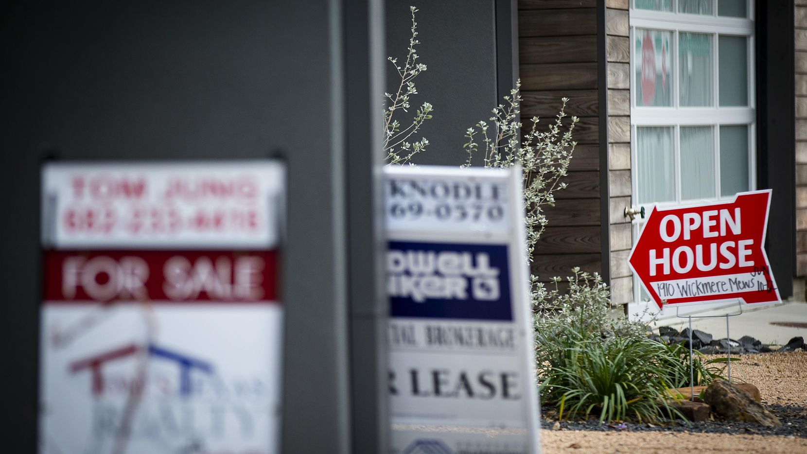 North Texas home sales were up 1 percent in February from a year ago and prices were unchanged.