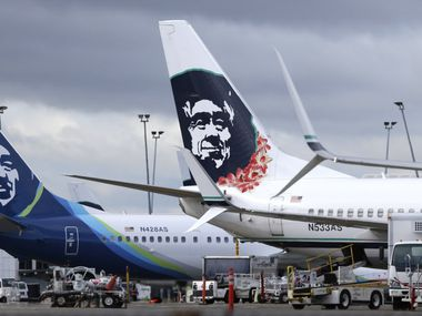 Seattle-based Alaska Airlines dominates in the Pacific Northwest, where it is the largest carrier in Seattle, Portland, Ore., and Anchorage. (Ted S. Warren/The Associated Press)