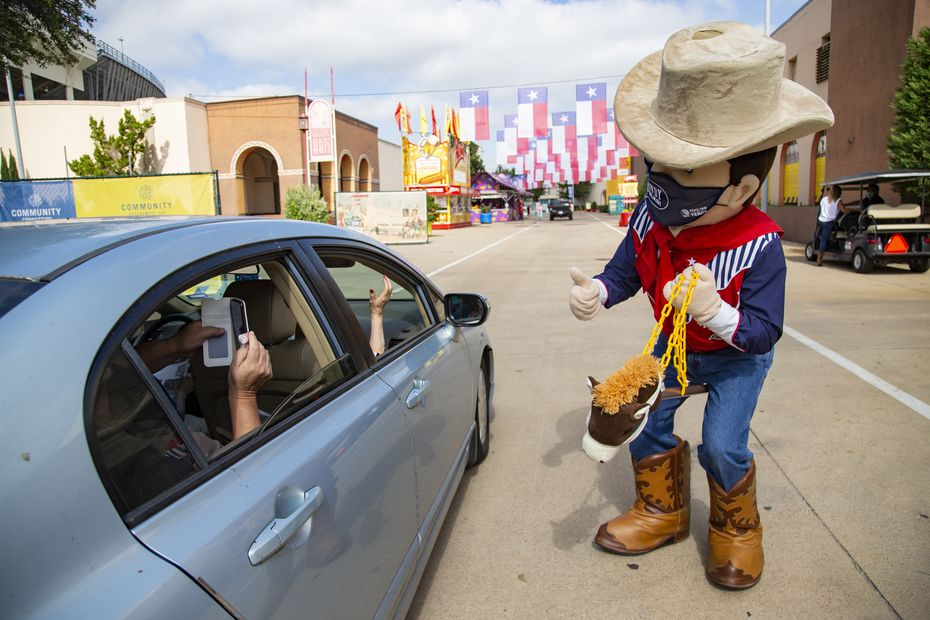 The Big Tex Fair Food Drive-Thru is just over 4 miles, from start to finish. Those who attend in the coming weeks should come ready to wait for several hours, though the State Fair spokeswoman says they're trying to slim down the time to 1 to 2 hours.