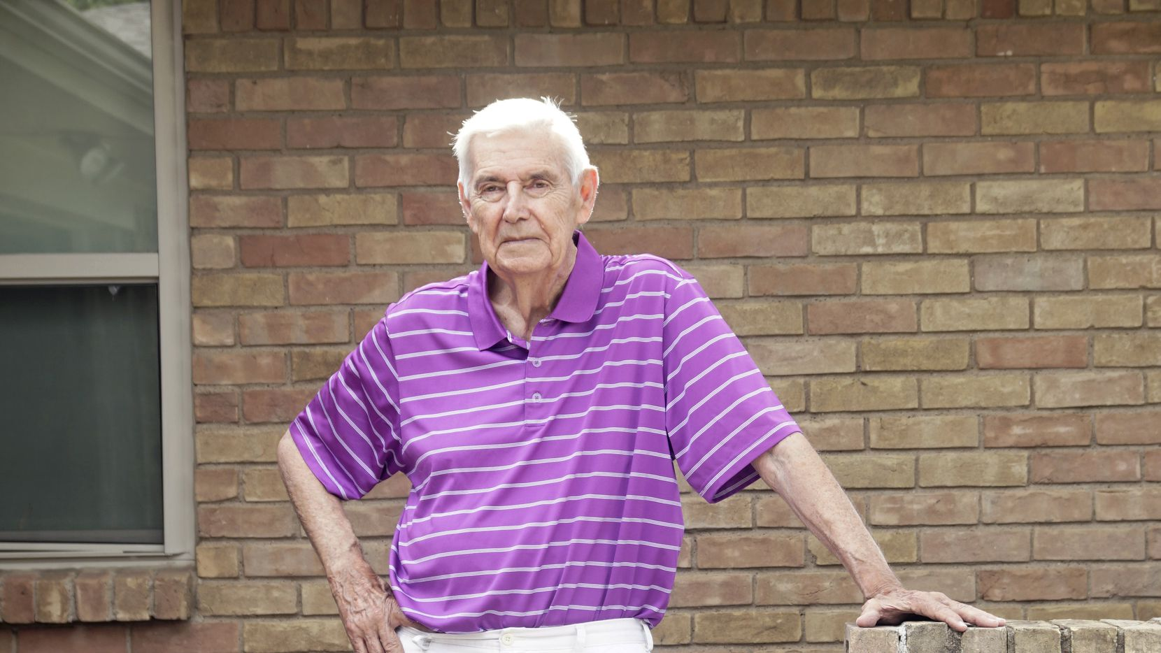 Don Nentwig, who broke his hip in a fall, had surgery the morning after his fracture and was standing that afternoon. He is part of the Returning Seniors to Orthopedic Excellence program.