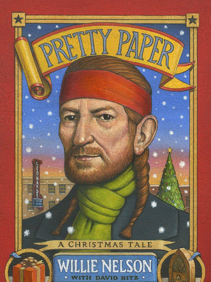 Pretty Paper, by Willie Nelson, with David Ritz