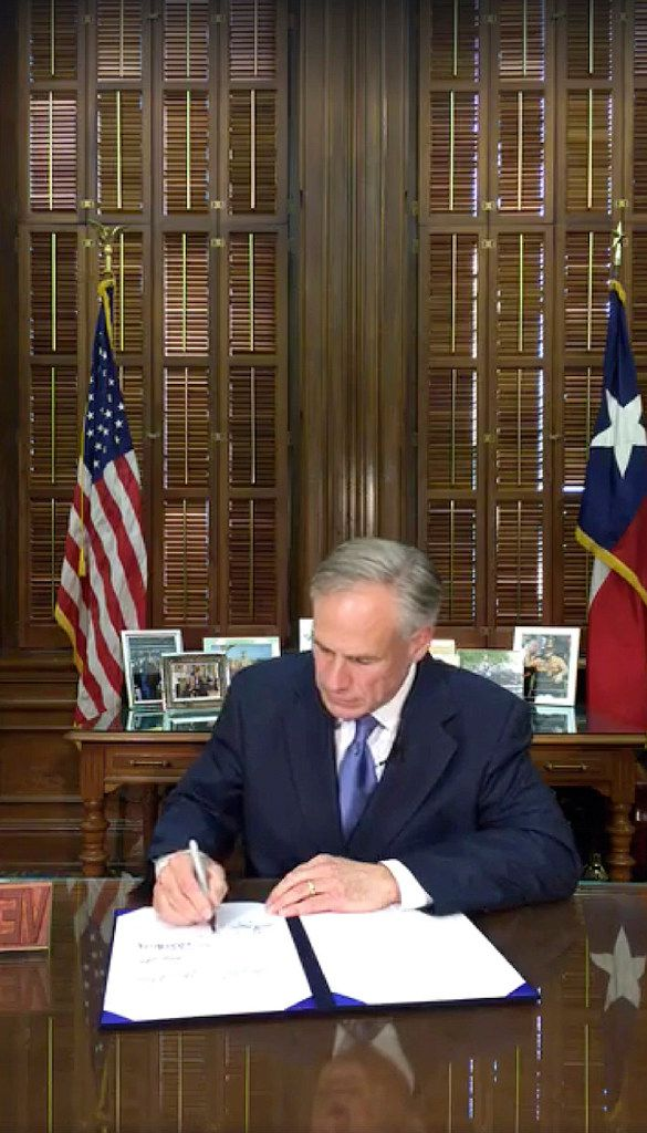 Gov. Greg Abbott signed the sanctuaries cities bill on May 7.