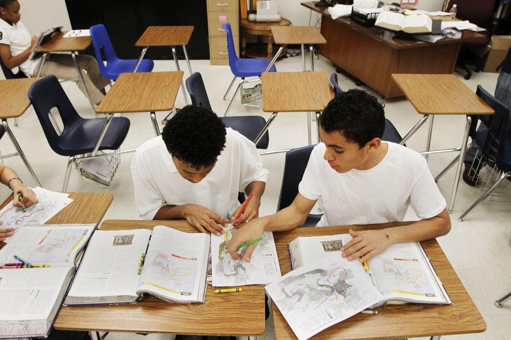 Texas Can Academy, en Ross Avenue, se mudará a un plantel con más espacio en el norte de Dallas. DMN