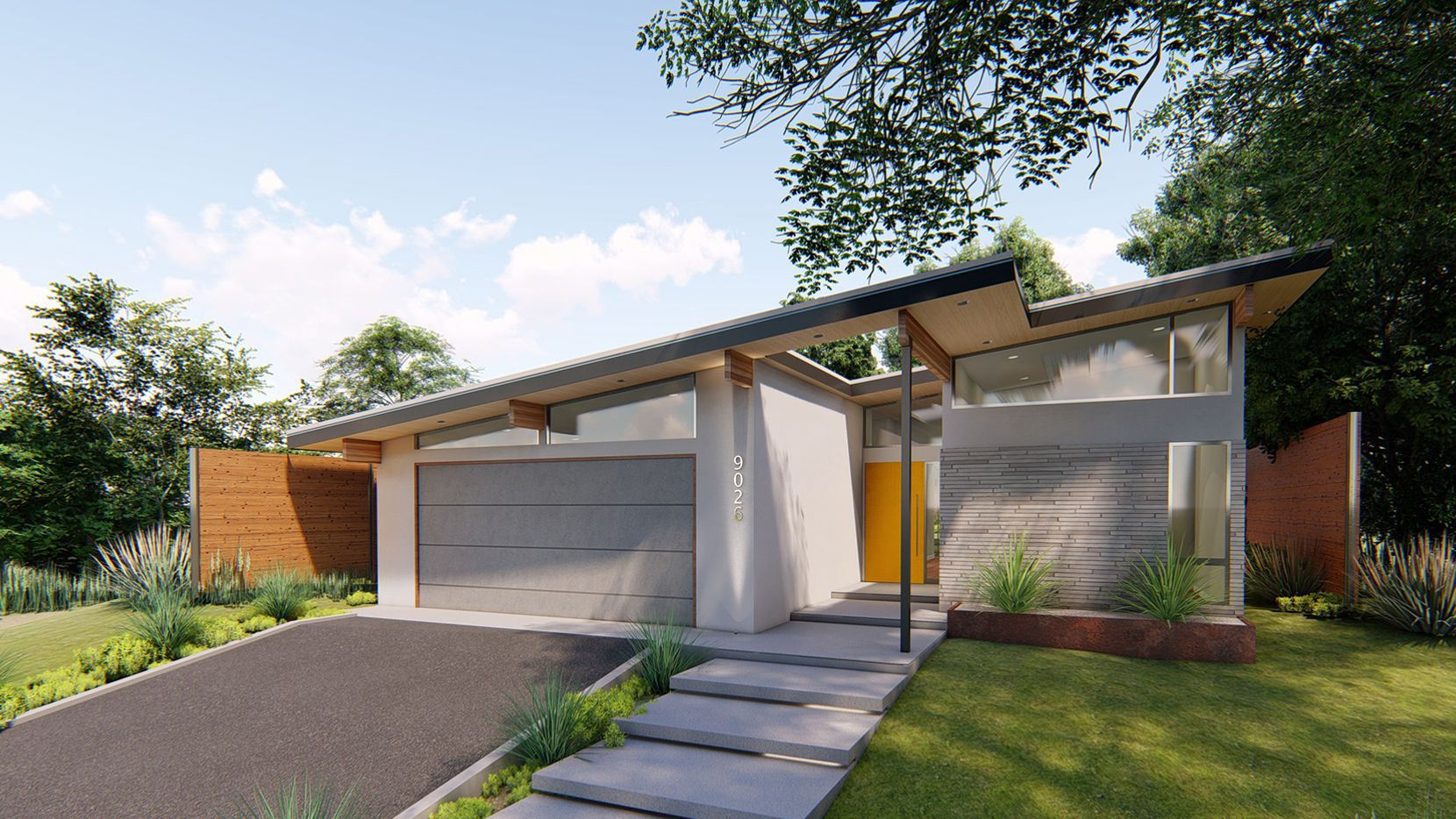Modern Design Brothers touts four-bedroom design near White ...