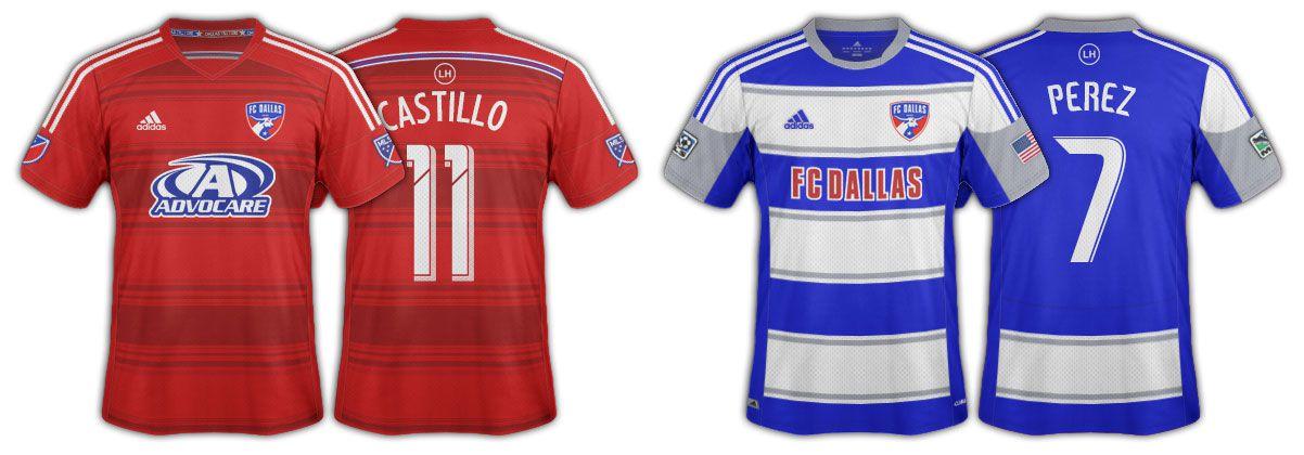 2014 FC Dallas jerseys
