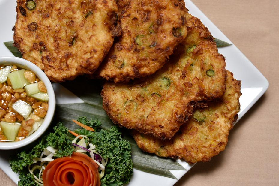 """Tony Street says of his wife Jab Street's corn patties, """"They're one of the reasons I married her."""""""