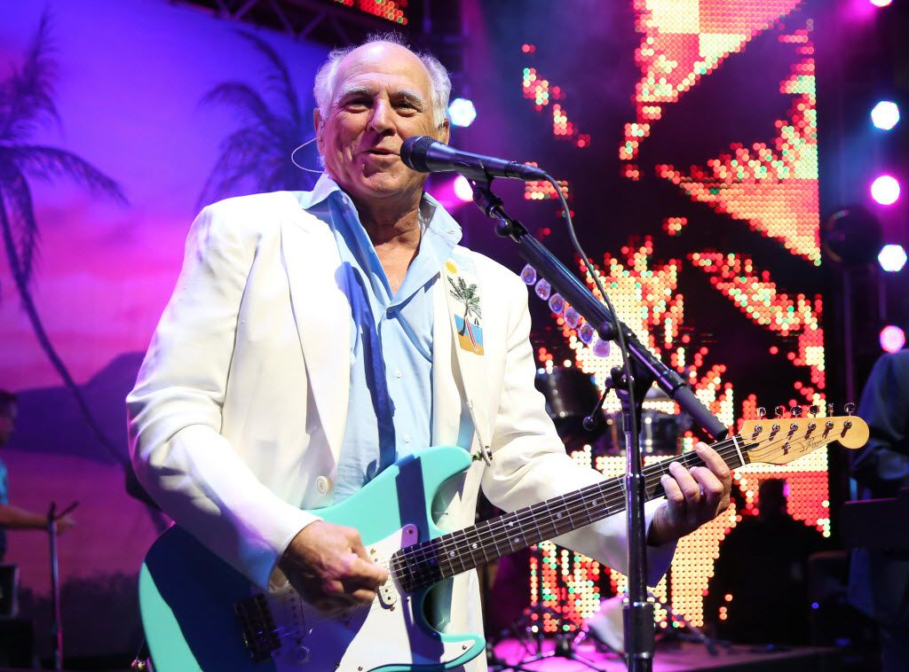 Jimmy Buffett performed at Coyote Drive-In in 2014.