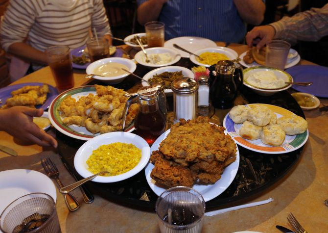 If you're a fan of fried chicken, you've got to love Babe's, where it's served up — hot, crisp and juicy — family-style, along with a panoply of old-fashioned, home-style sides.