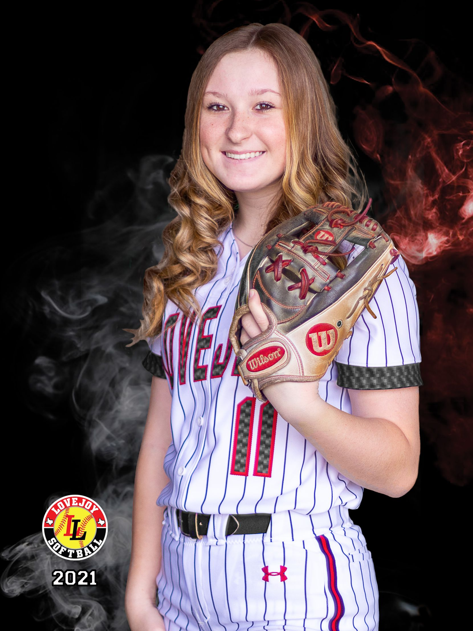 Picture of Softball Player of the Week for May 10, 2021: Frisco Lovejoy's Hannah Harvey.
