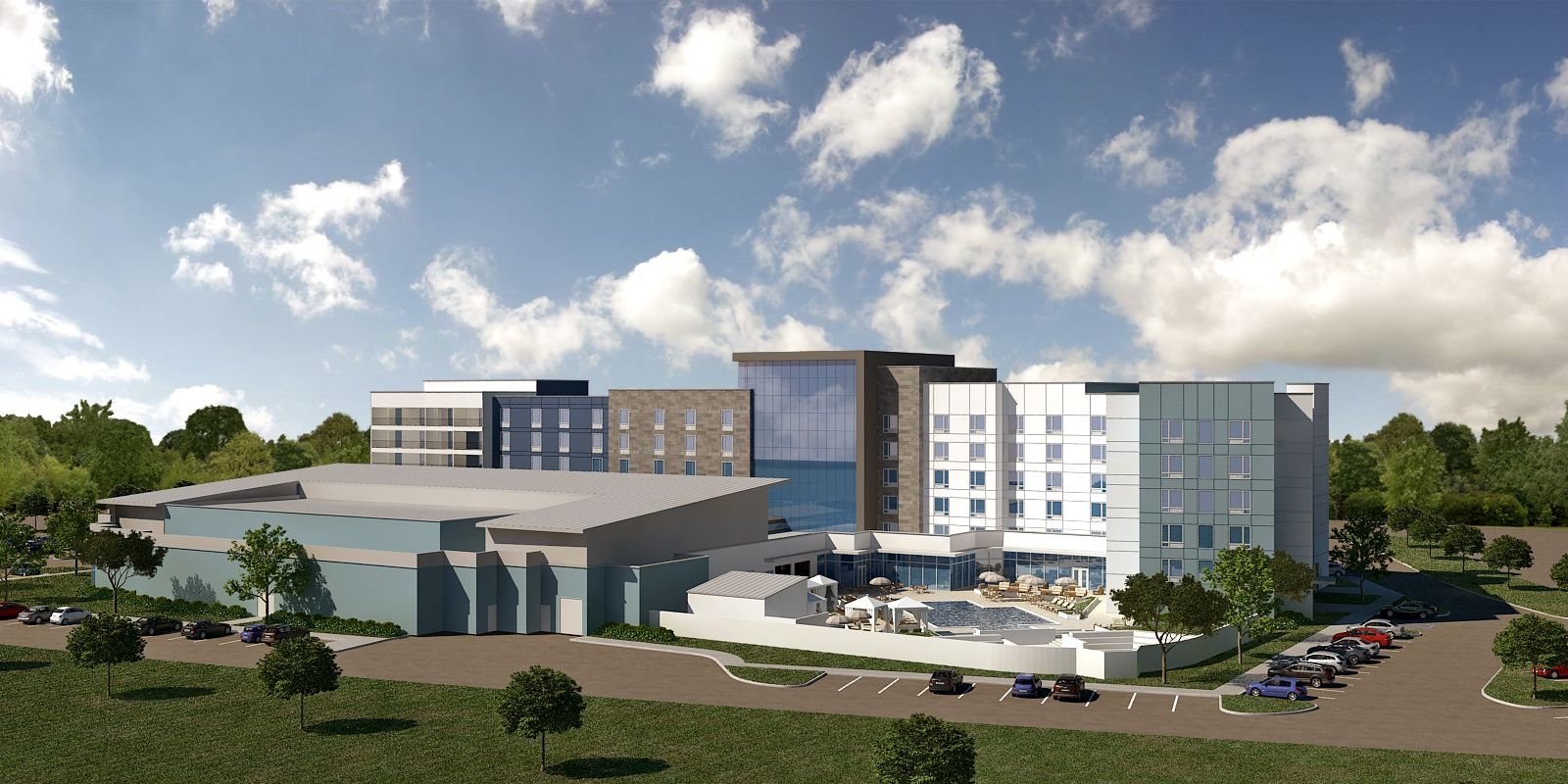Q Hotels 7.4-acre Arlington hotel project will open in 2018.