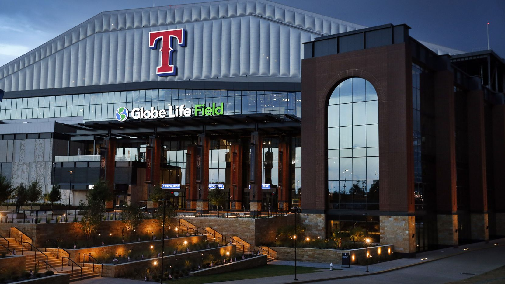 Pictured: Globe Life Field in Arlington, Texas.