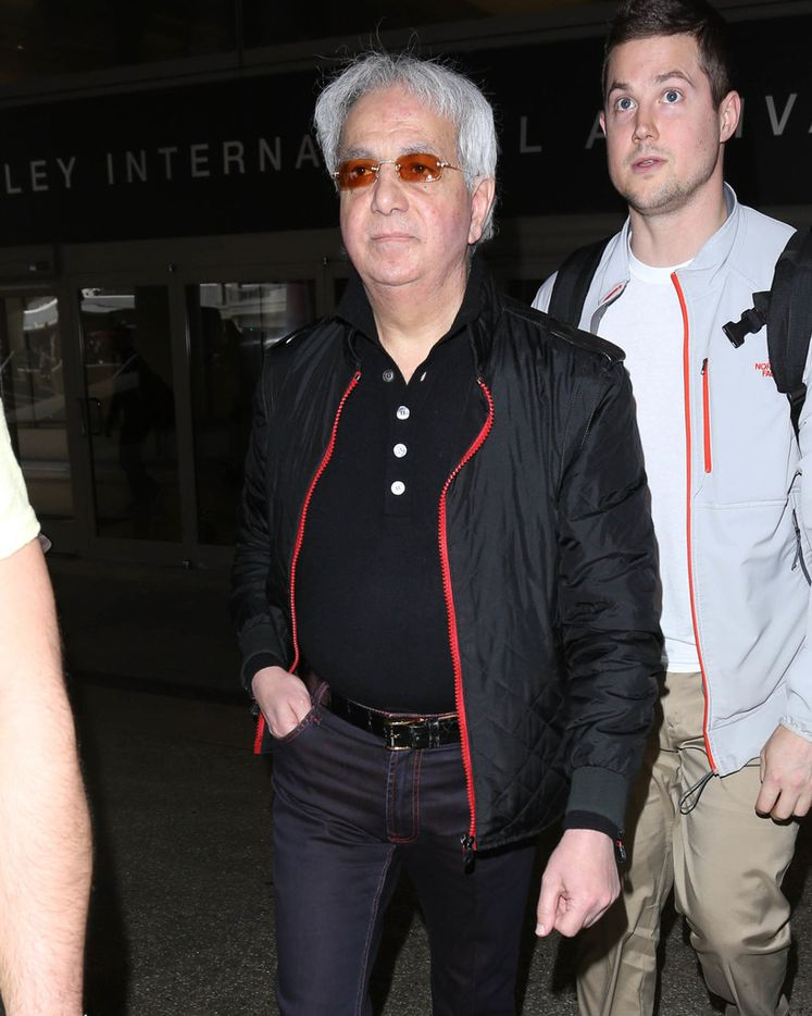 Benny Hinn is seen on May 10, 2017 in Los Angeles.
