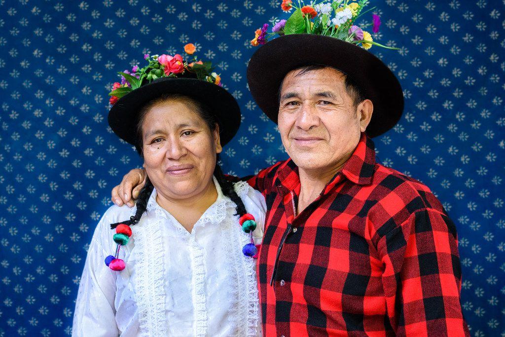 Artists Claudio Jimenez Quispe and Vicenta Flores Ataucusi will participate in the 2018 International Folk Art Market