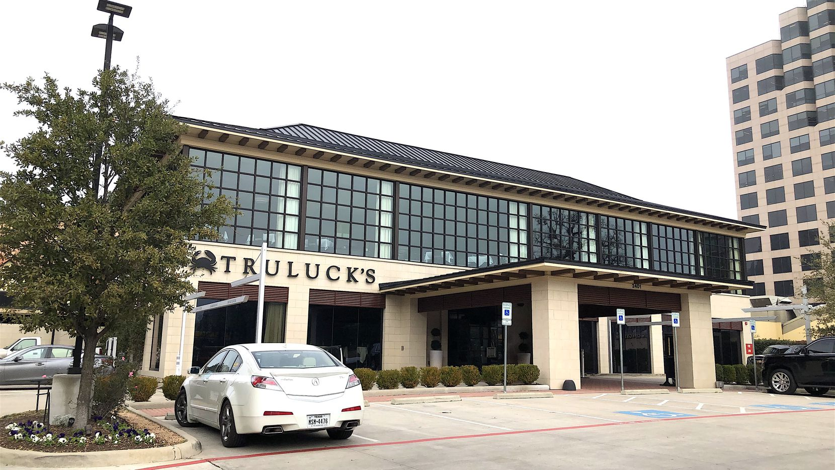 The building site Crow Co. is in talks with is the Truluck's restaurant location on McKinney Avenue.