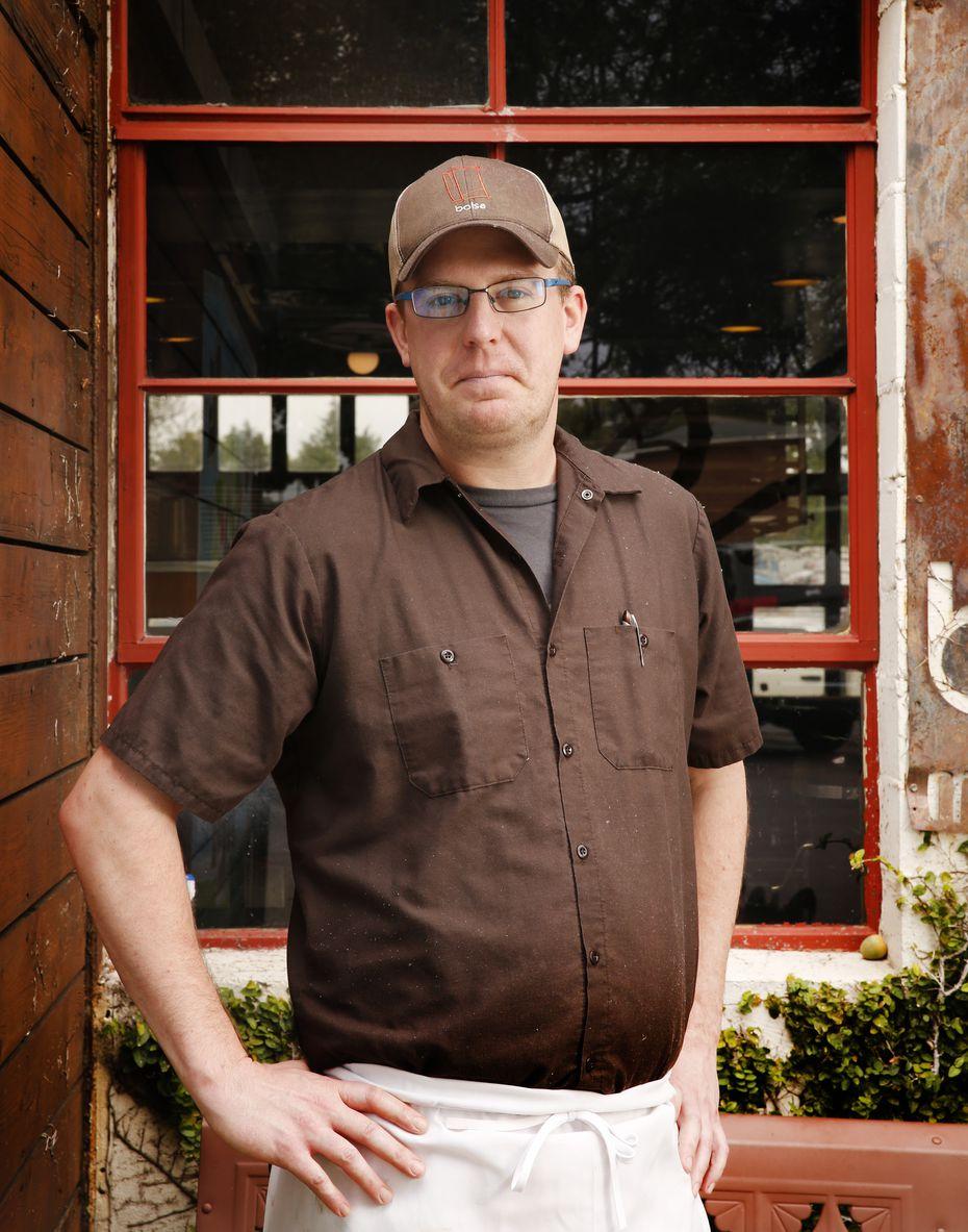 Chef Matt Balke, pictured here in 2018, was Bolsa's last chef.