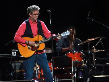 Eric Clapton performs at American Airlines Center in 2013.