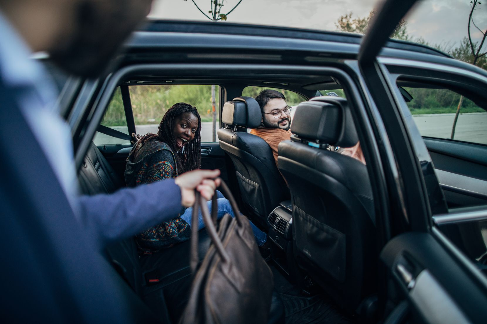 Instead of riding in an empty car, the In Try Parking It initiative aims to match people for carpooling and vanpooling opportunities.