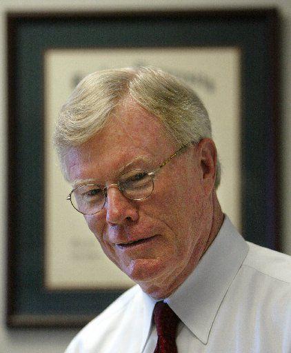 Former Dallas County District Attorney Bill Hill in 2004.