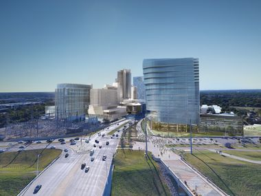 Two office buildings and a hotel are on the drawing boards for West Dallas' Trinity Groves development.