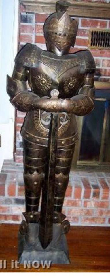 Granbury police released this image — a duplicate of what the missing armor looks like.