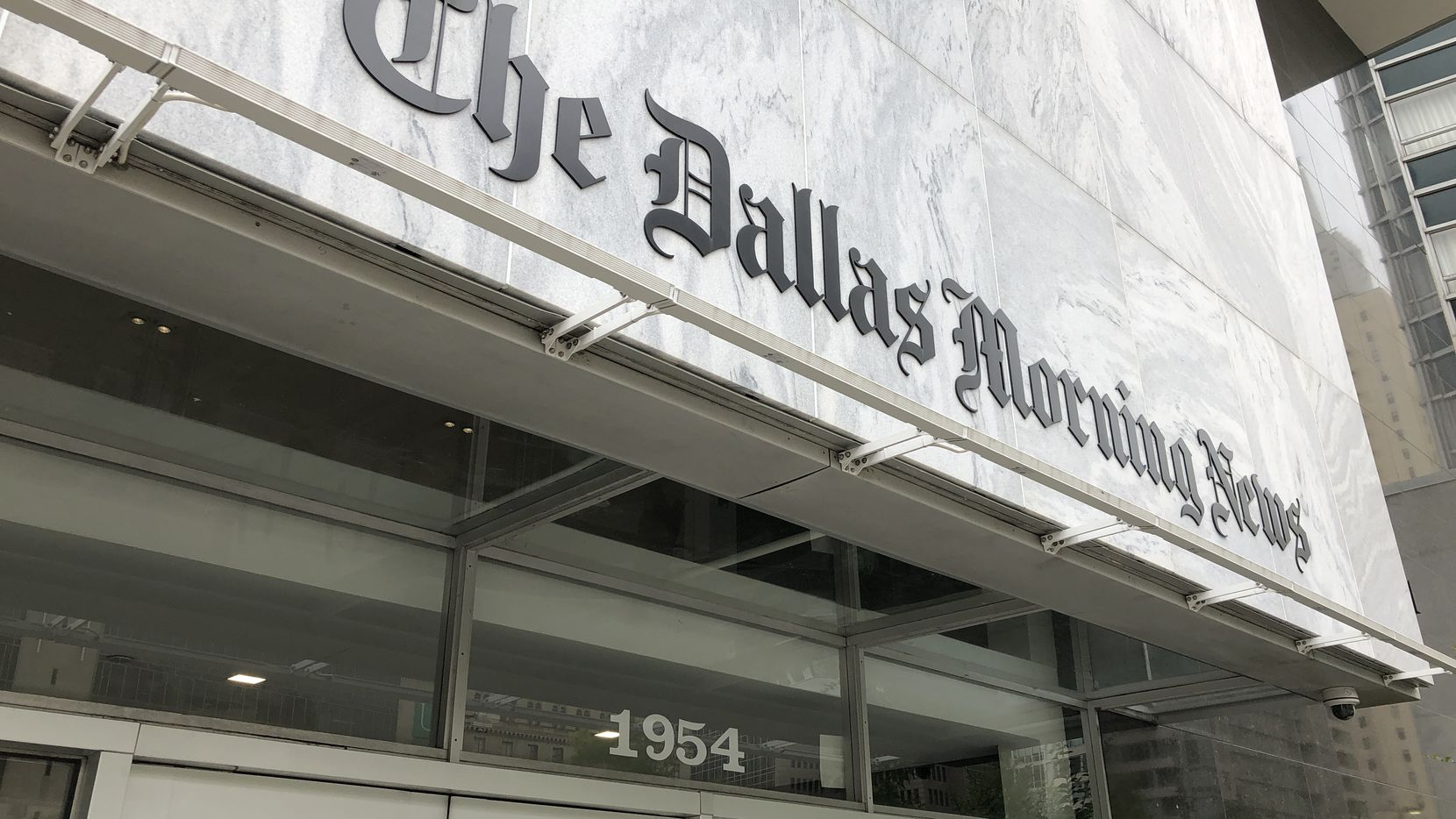 The Dallas Morning News' headquarters at 1954 Commerce St. in downtown Dallas.