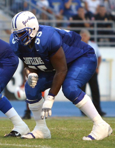 """Vanalta """"Van"""" Nelson excelled on the Texas A&M-Kingsville offensive line but didn't graduate. As a Parkland psych ER tech, he was involved in a violent incident with a patient before resigning in October 2010 to join the Spokane Shock, an arena football team."""