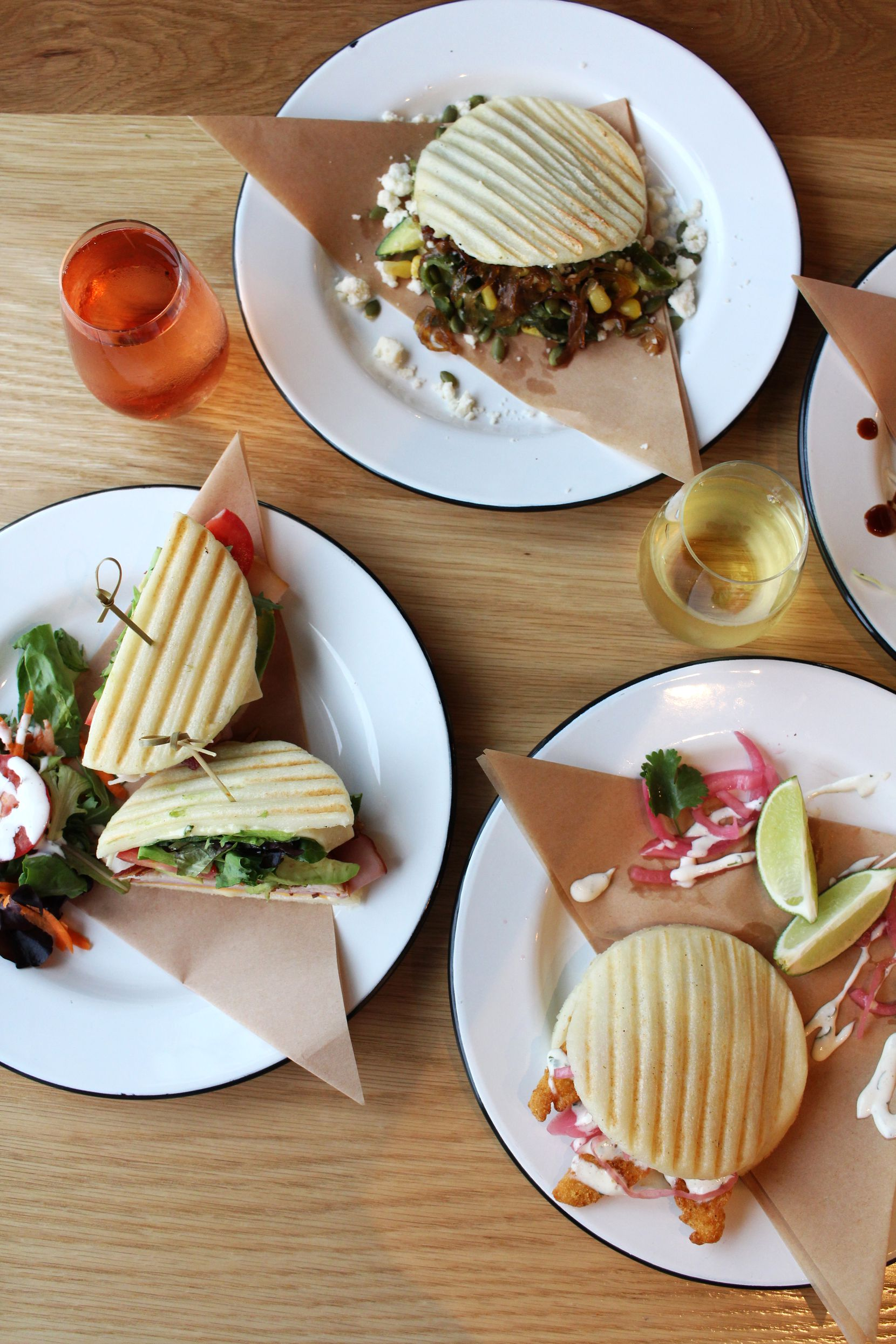 Arepa TX serves arepas and tacos in the coming-soon Harvest Hall in Grapevine.