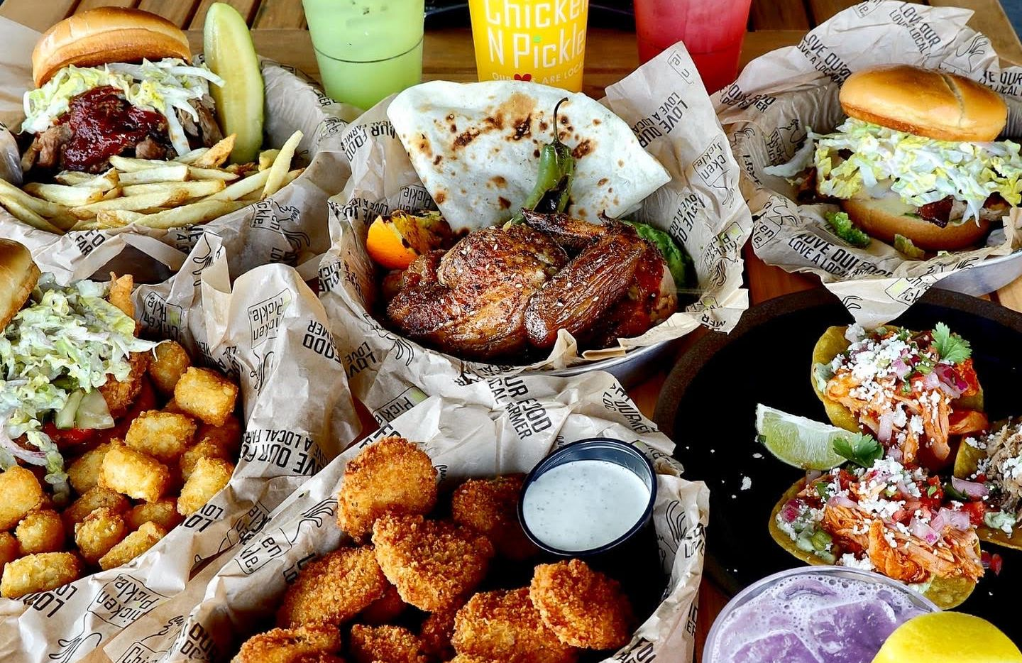 Chicken N Pickle is planning to open a location in Grapevine that will have indoor and outdoor dining and areas for shuffleboard, bocce and other lawn games.