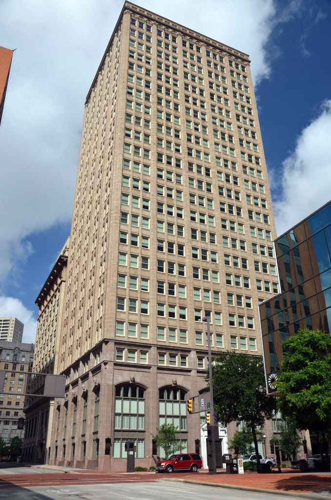 The historic tower, originally the Farmers and Mechanics National Bank building, was once the tallest building west of the Mississippi River.