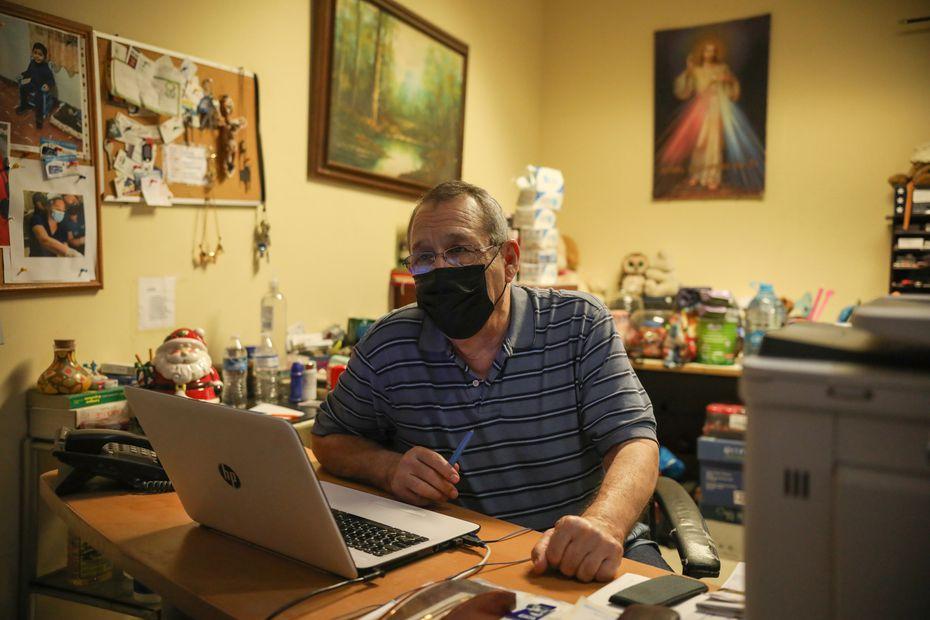 Jose Jaime Salinas, the coordinator of the refuge.