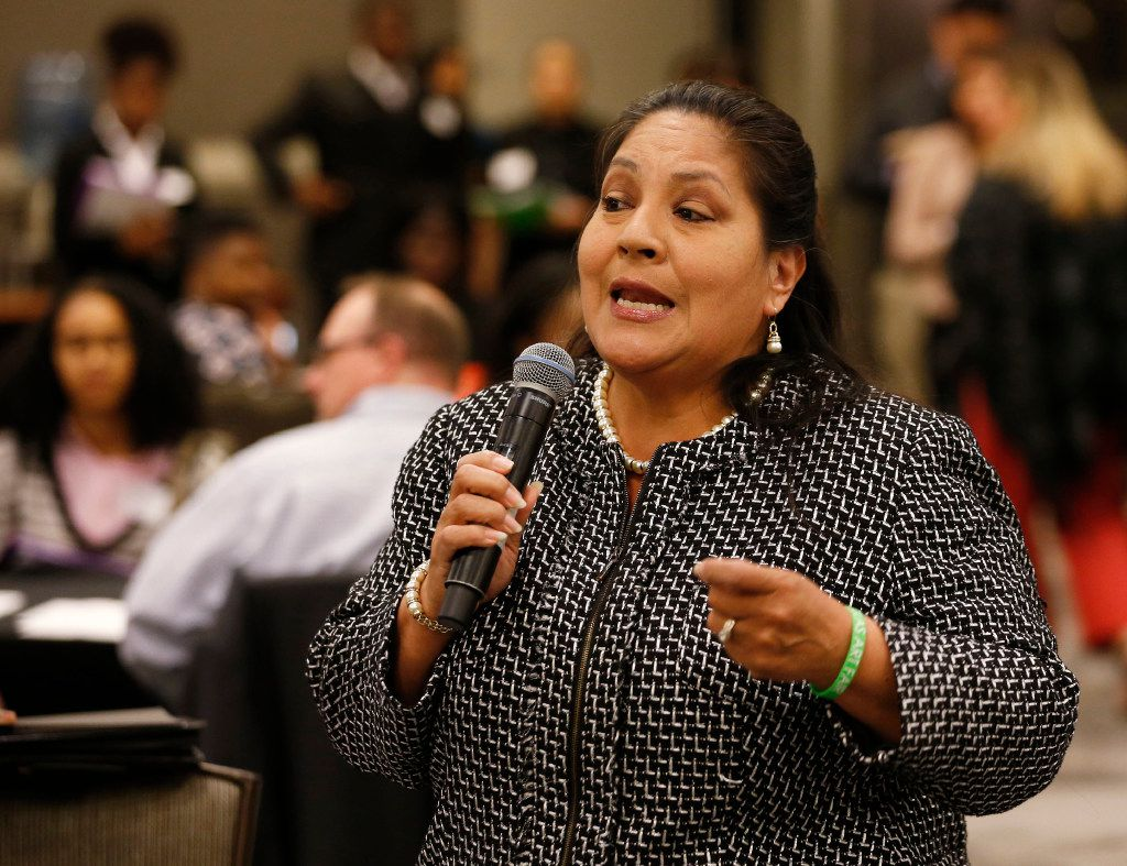 Dallas Mayor Pro Tem Monica Alonzo will not have her raced decided by Saturday night, as hundreds of mail-in ballots still have to be authenticated. (Vernon Bryant/The Dallas Morning News)