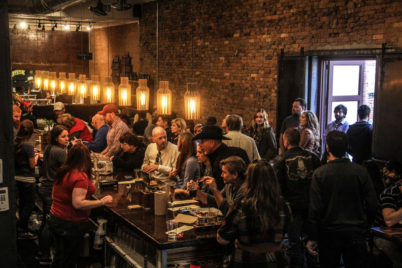 Intrinsic Smokehouse and Brewery on the square in Downtown Garland held its grand opening on December 5, 2015.
