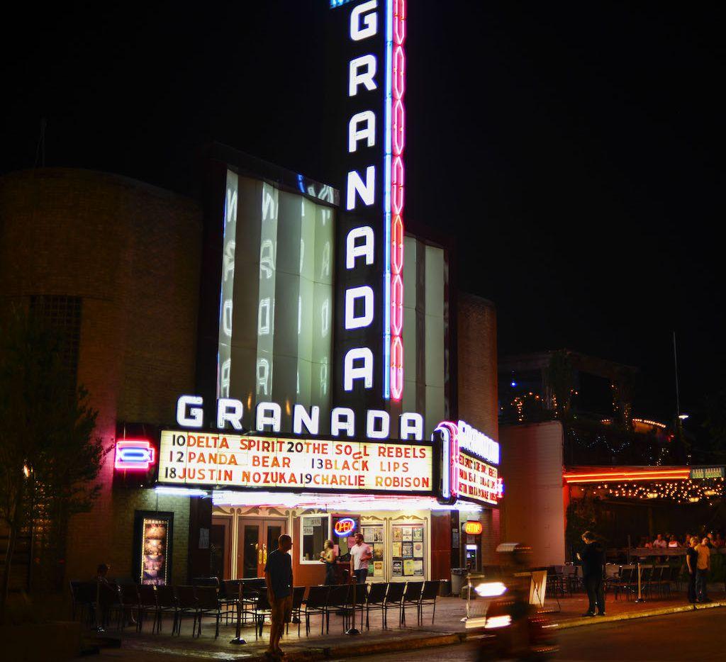 The Granada Theater at 3524 Greenville Ave., Dallas