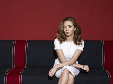"Bumble creator Whitney Wolfe says her app marks ""the first time in digital dating or real life that women are in control."""
