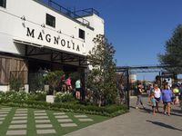 Entrance of Magnolia Market at the Silos in Waco.