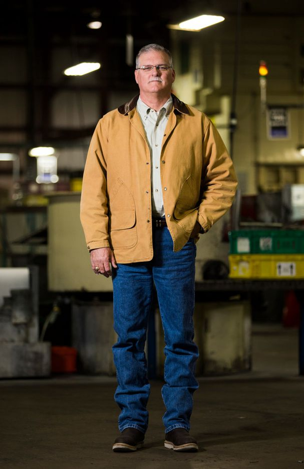 J. Scott Hays, vice president of operations at ITD Precision, moved the factory to Harlingen from the Houston headquarters in 1994 because of NAFTA.