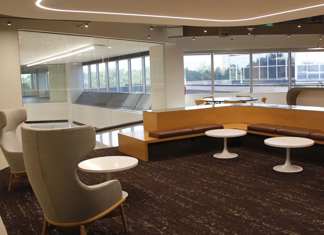 The conference center in the recently renovated Lincoln Centre 2 office tower.