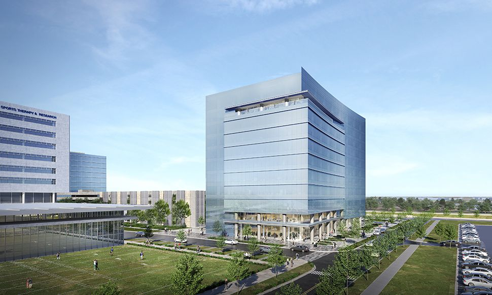 The 11-story office tower is planned in the Dallas Cowboy's Star development in Frisco.