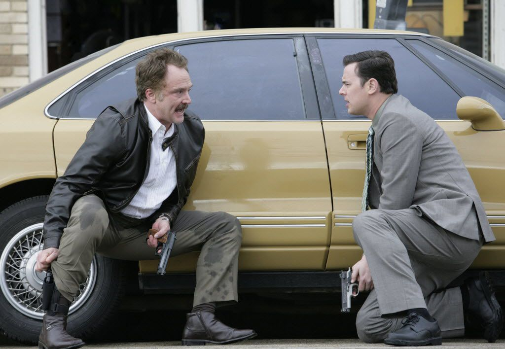 Bradley Whitford (left) and Colin Hanks were The Good Guys in the short-lived FOX series shot in Dallas. (File Photo)