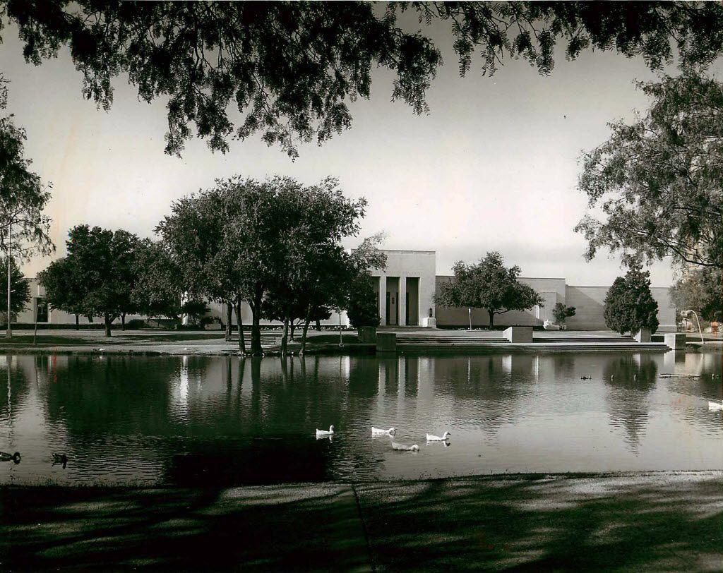 The building, as it looked in 1936, when it was known as the Dallas Museum of Fine Arts in Fair Park.