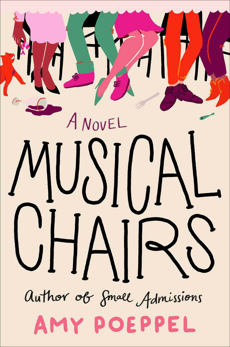 """Musical Chairs"" by Amy Poeppel is a comic take on the changes one summer brings for a cellist, her grown children, her friends and her extended family."