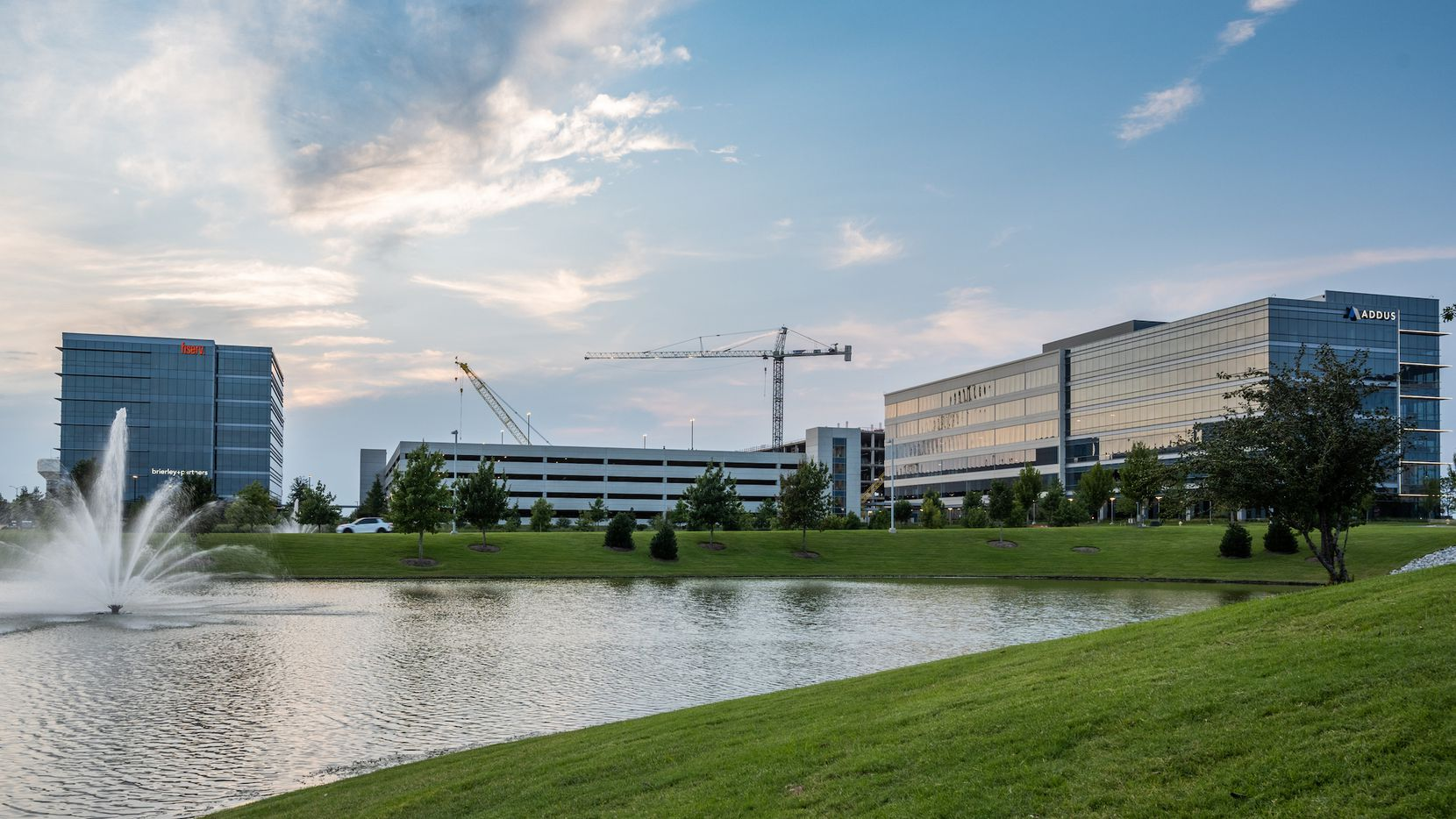 Raymond James is opening a location in the Offices Two, one of three office buildings in Frisco Station.