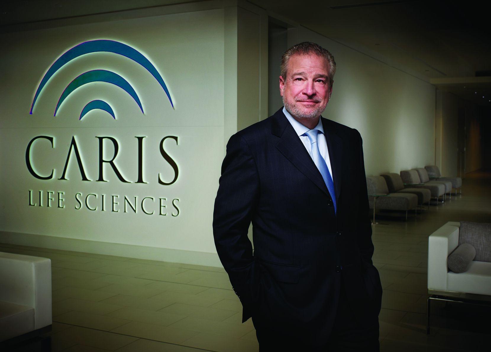 David D. Halbert, founder and chairman of Caris Life Sciences.