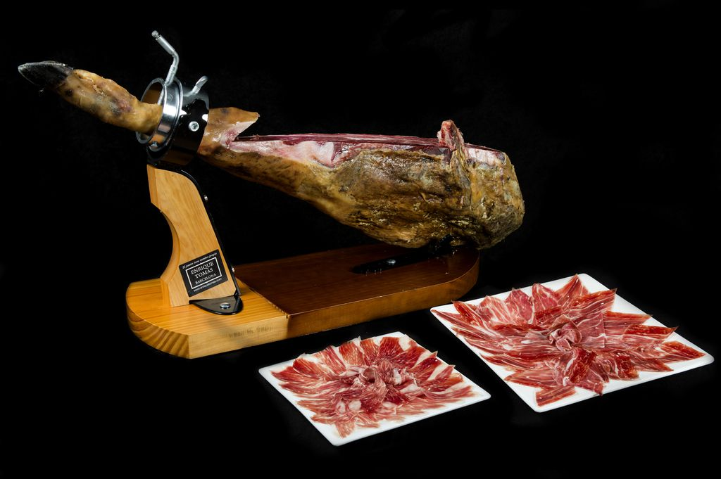 You can find jamón Ibérico in Dallas at Enrique Tomas on Henderson Avenue.